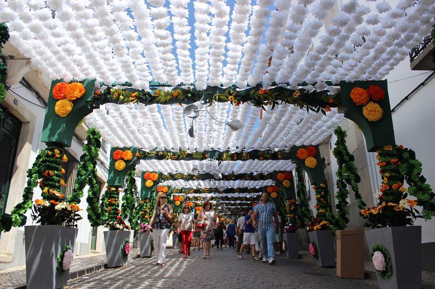 Фестиваль цветов в Португалии. Фото № 1