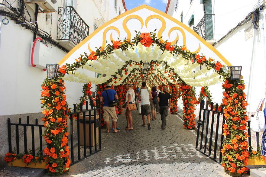 Фестиваль цветов в Португалии. Фото № 12