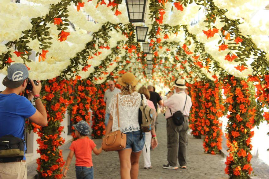 Фестиваль цветов в Португалии. Фото № 13