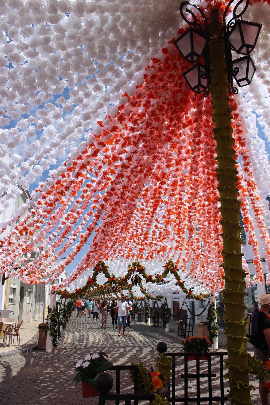 Фестиваль цветов в Португалии. Фото № 14