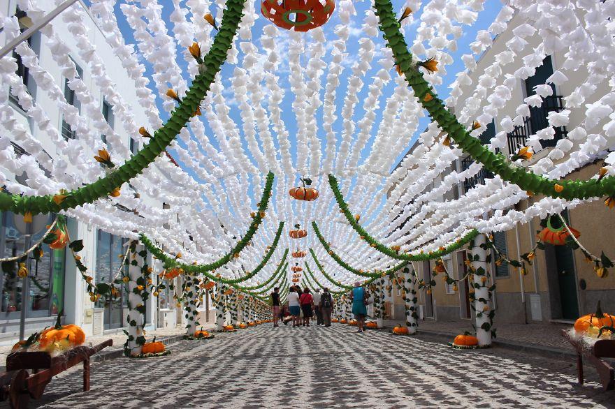 Фестиваль цветов в Португалии. Фото № 15