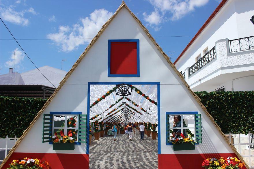 Фестиваль цветов в Португалии. Фото № 17