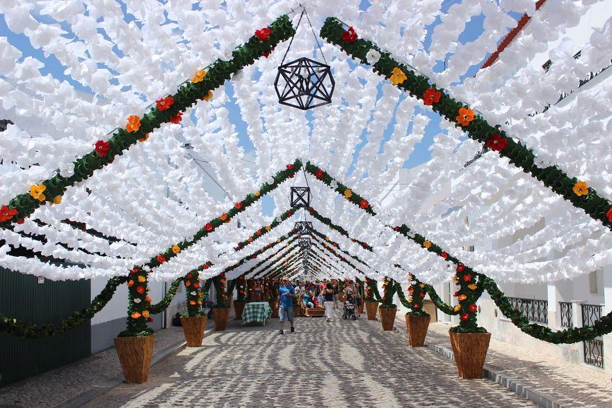 Фестиваль цветов в Португалии. Фото № 18