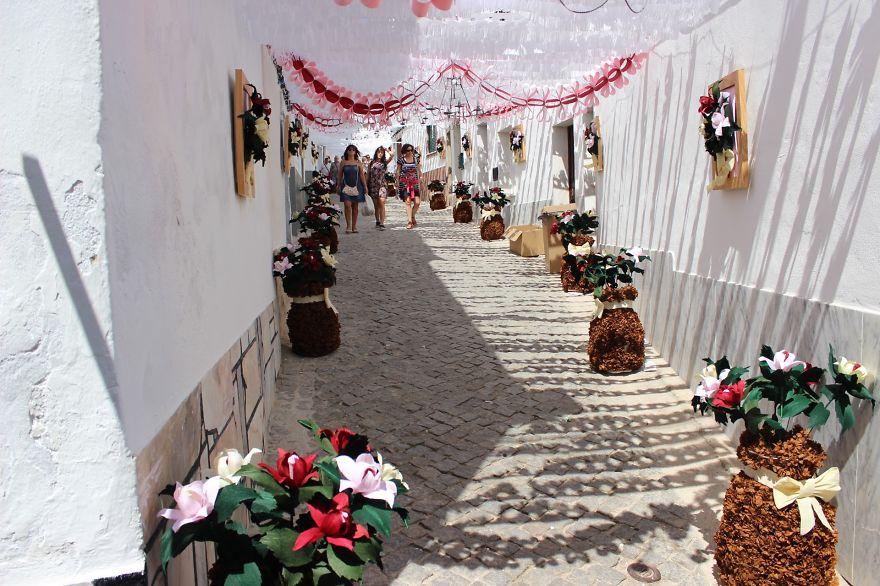 Фестиваль цветов в Португалии. Фото № 2