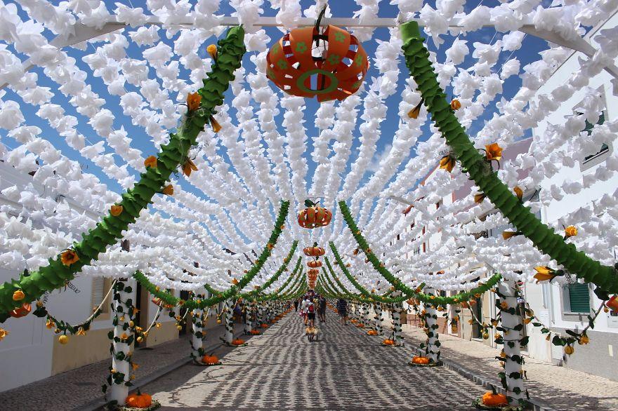 Фестиваль цветов в Португалии. Фото № 20