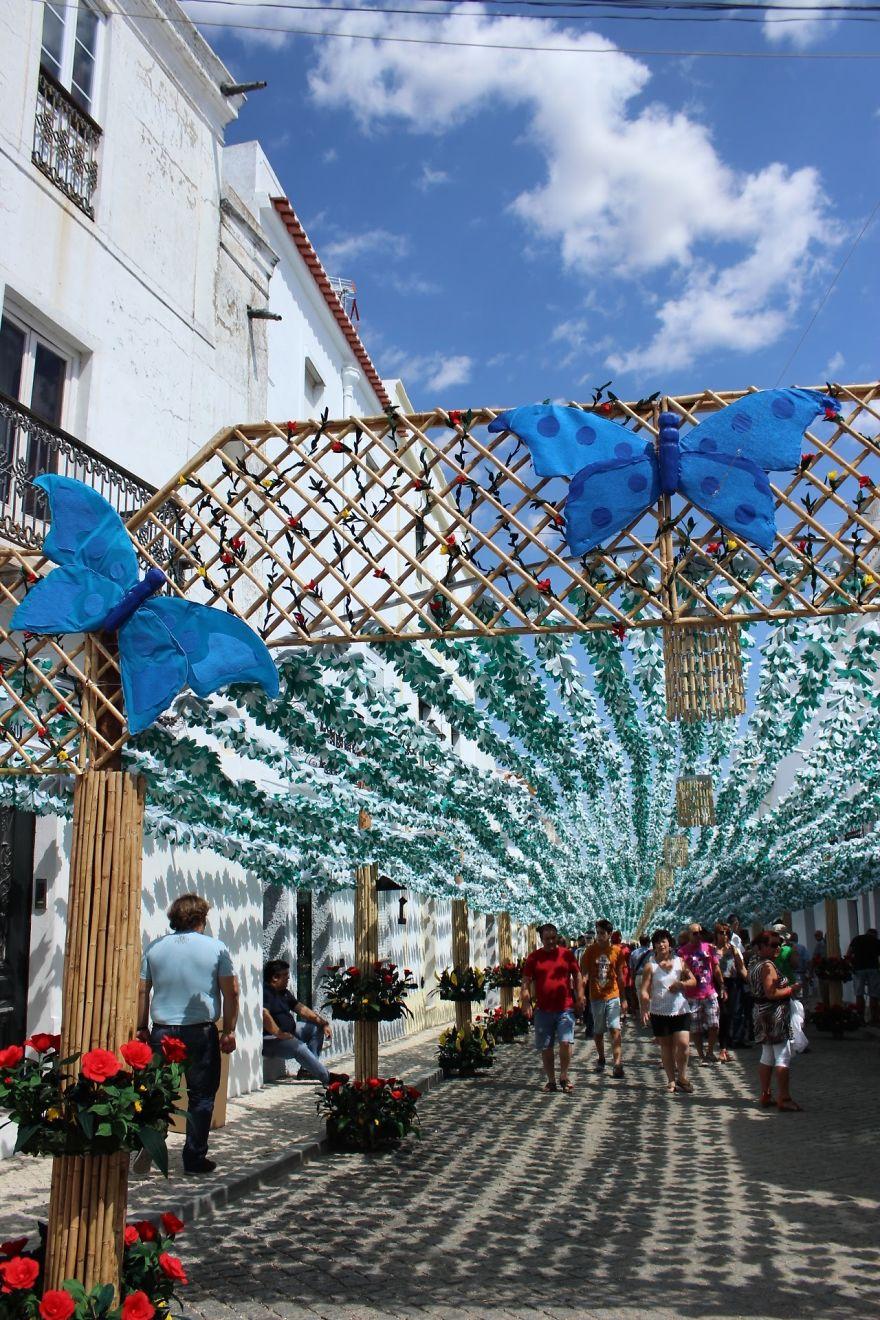 Фестиваль цветов в Португалии. Фото № 22
