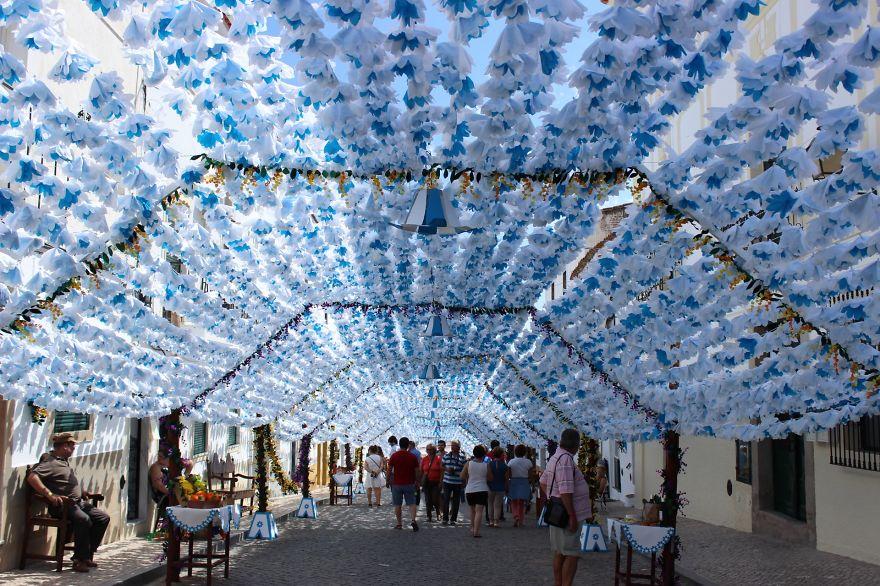 Фестиваль цветов в Португалии. Фото № 23