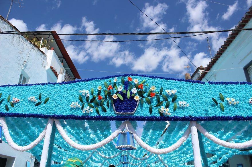 Фестиваль цветов в Португалии. Фото № 24