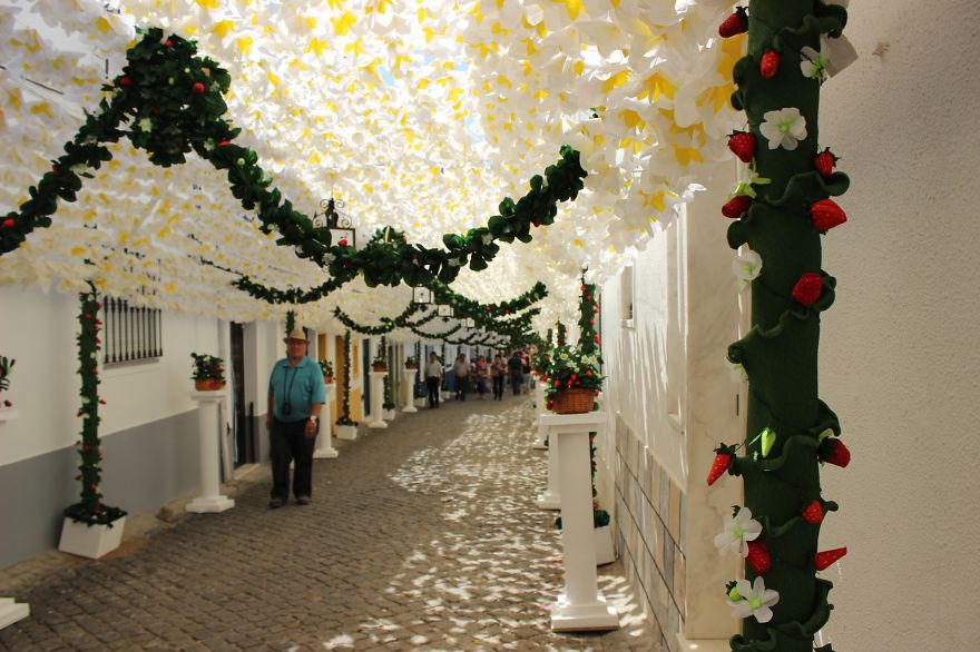 Фестиваль цветов в Португалии. Фото № 26