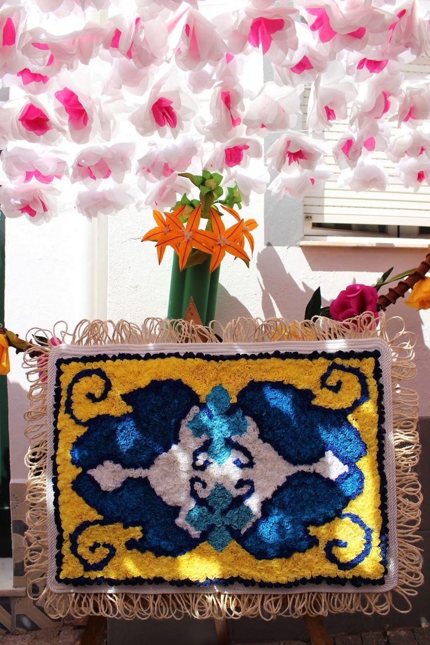 Фестиваль цветов в Португалии. Фото № 28
