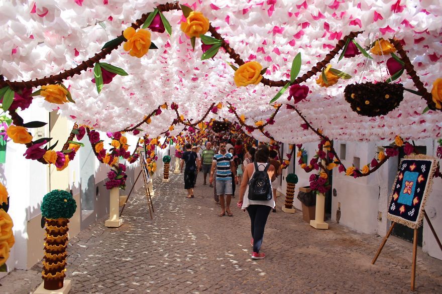 Фестиваль цветов в Португалии. Фото № 29