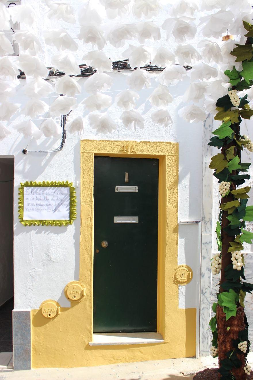 Фестиваль цветов в Португалии. Фото № 31