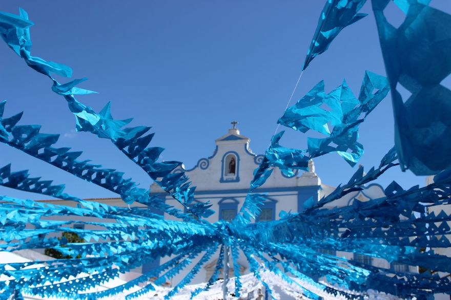 Фестиваль цветов в Португалии. Фото № 32