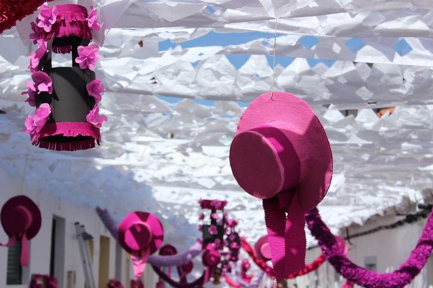 Фестиваль цветов в Португалии. Фото № 33