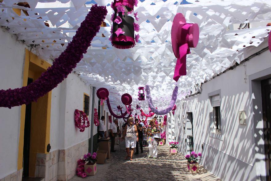 Фестиваль цветов в Португалии. Фото № 34
