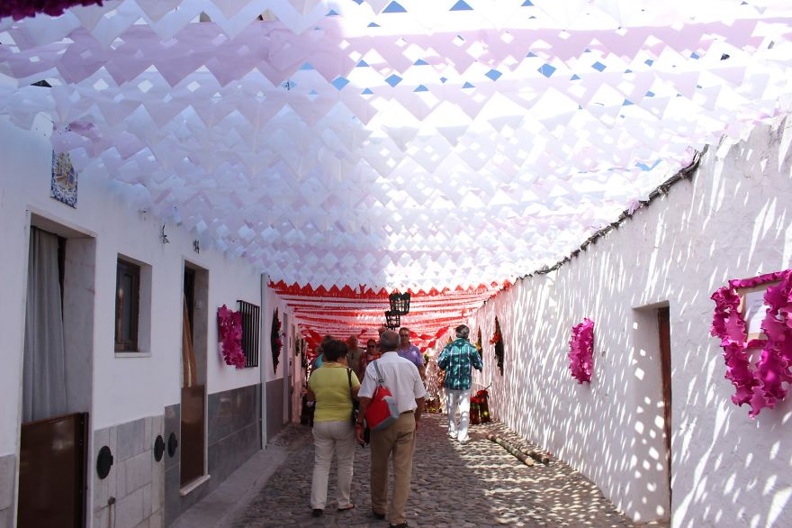 Фестиваль цветов в Португалии. Фото № 35