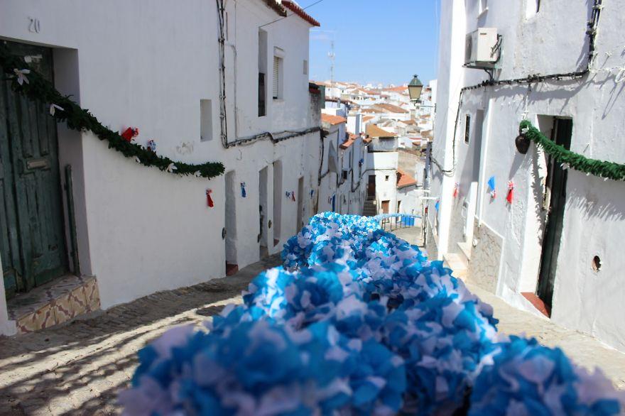 Фестиваль цветов в Португалии. Фото № 36
