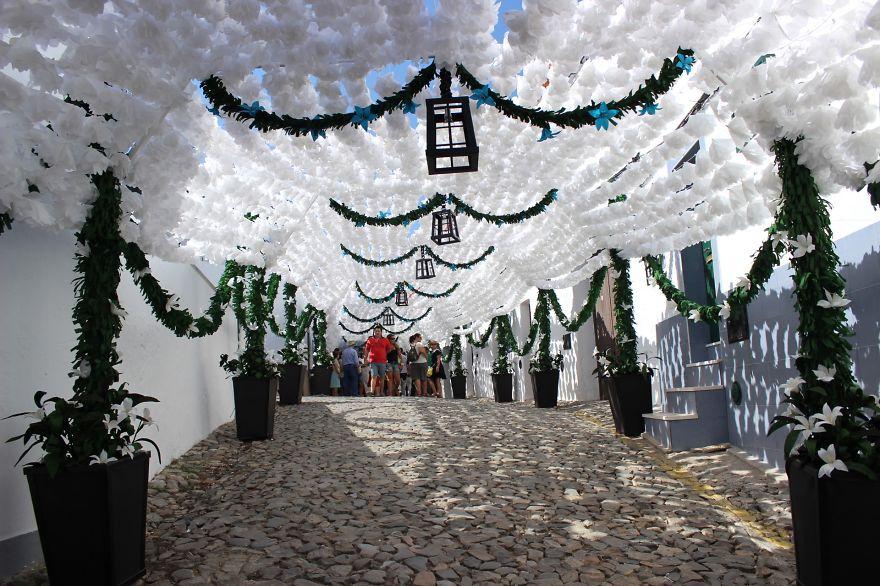Фестиваль цветов в Португалии. Фото № 37
