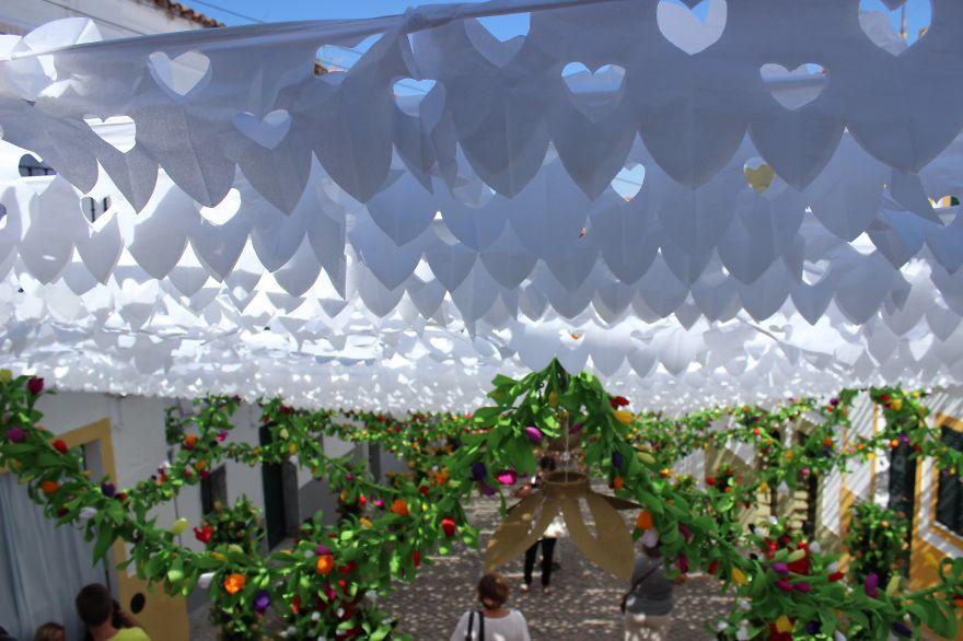 Фестиваль цветов в Португалии. Фото № 39