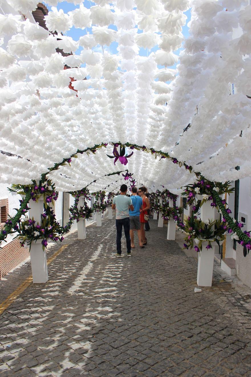 Фестиваль цветов в Португалии. Фото № 4