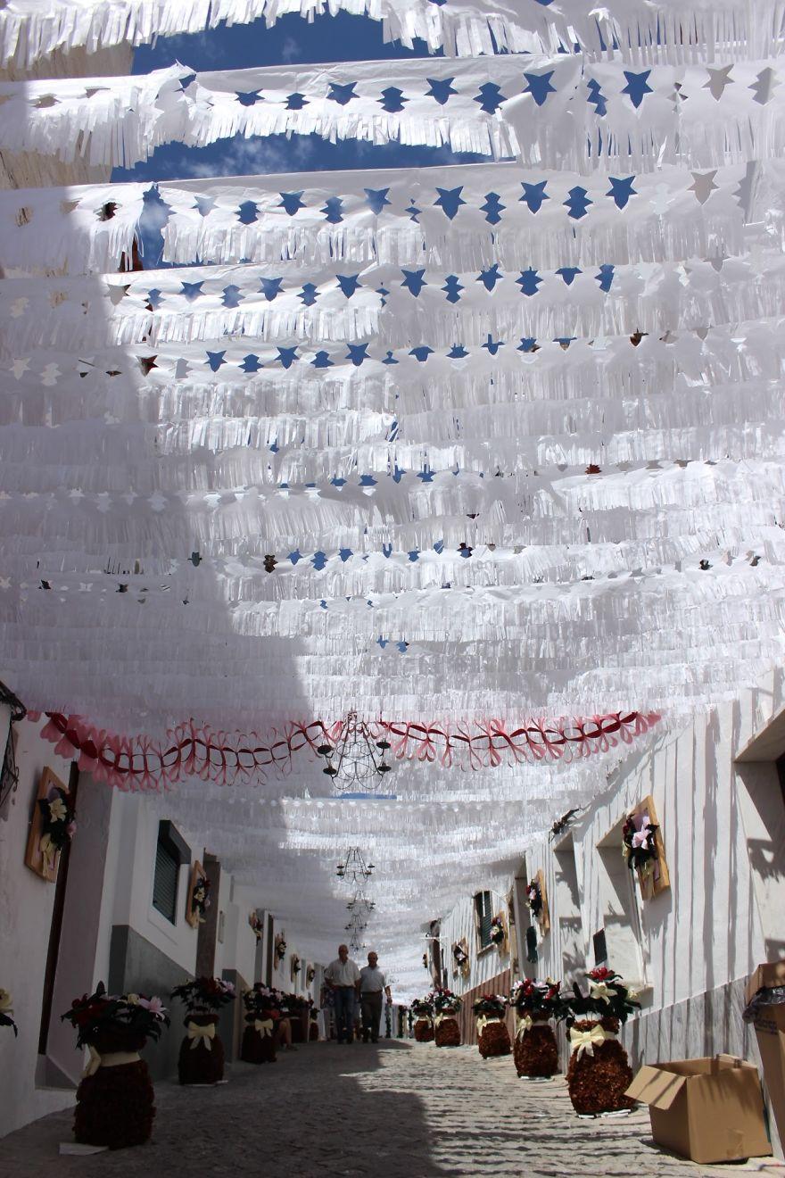 Фестиваль цветов в Португалии. Фото № 5