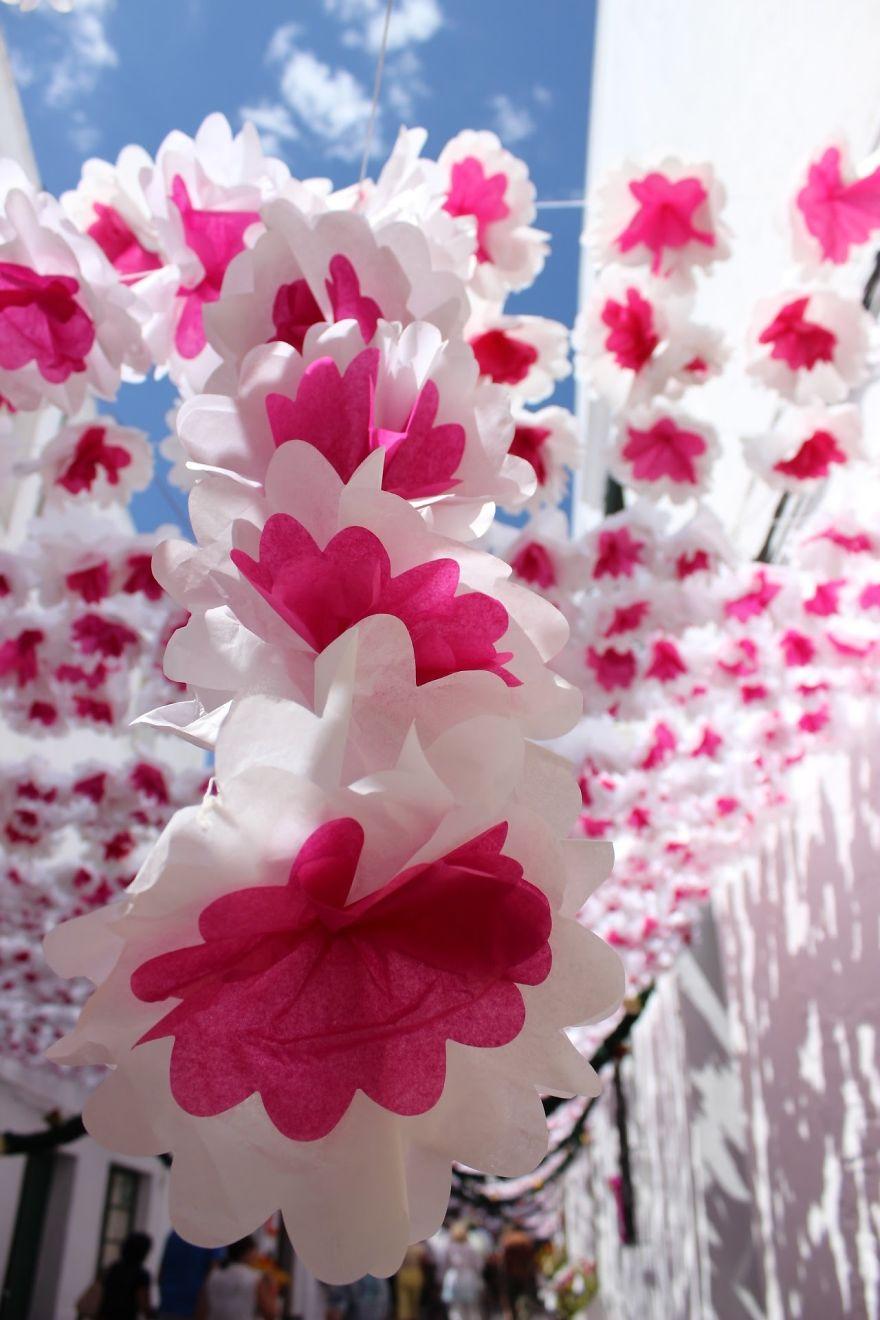 Фестиваль цветов в Португалии. Фото № 6