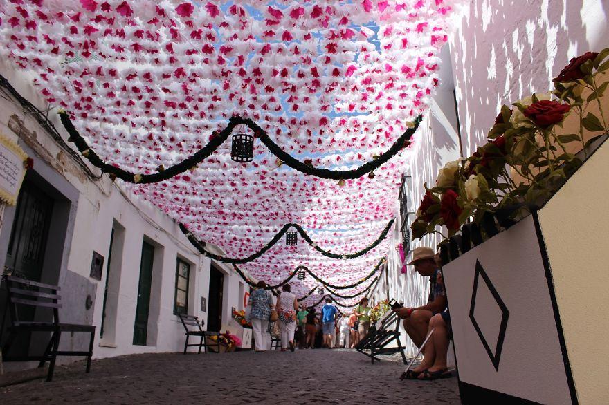 Фестиваль цветов в Португалии. Фото № 7