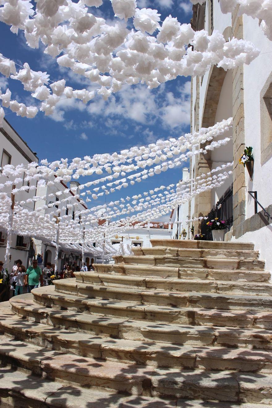 Фестиваль цветов в Португалии. Фото № 9