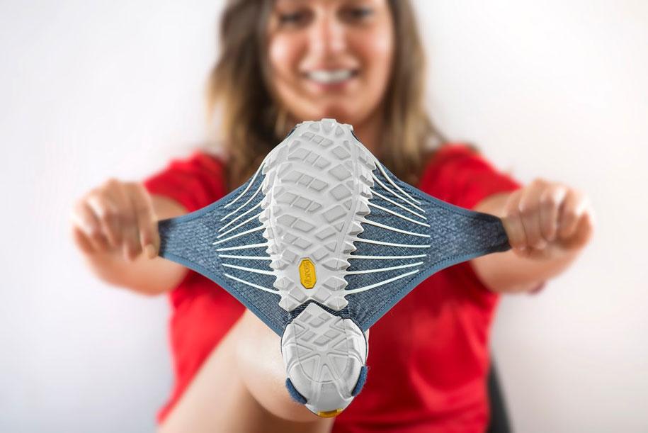 Фурошики. Японская обувь из ткани. Фото № 3