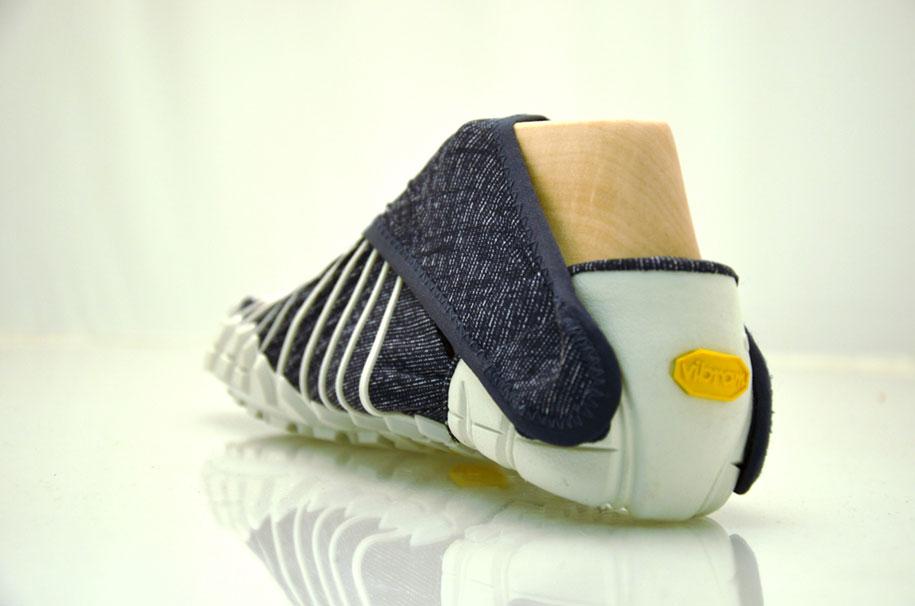 Фурошики. Японская обувь из ткани. Фото № 5