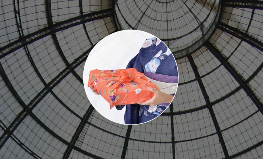 Фурошики. Японская обувь из ткани. Фото № 7