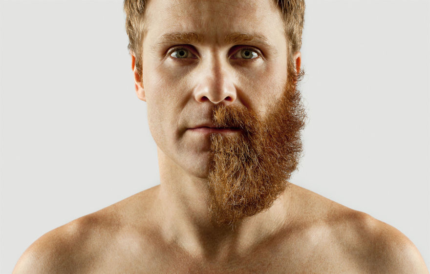 Груминг стрижка бороды креатив__001