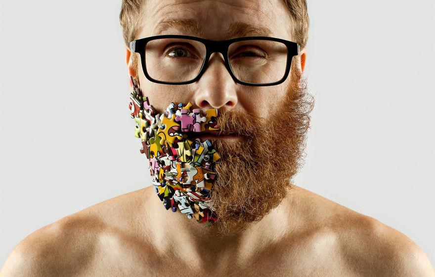 Груминг стрижка бороды креатив__003