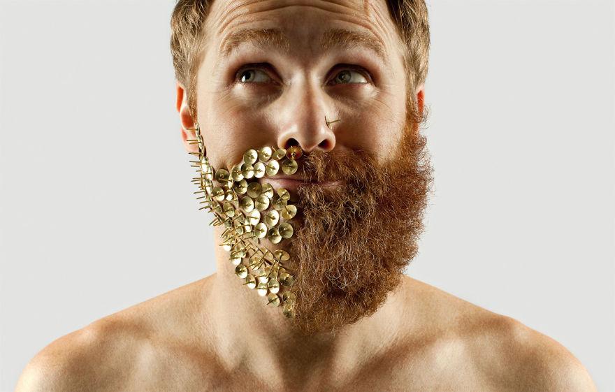 Груминг стрижка бороды креатив__004