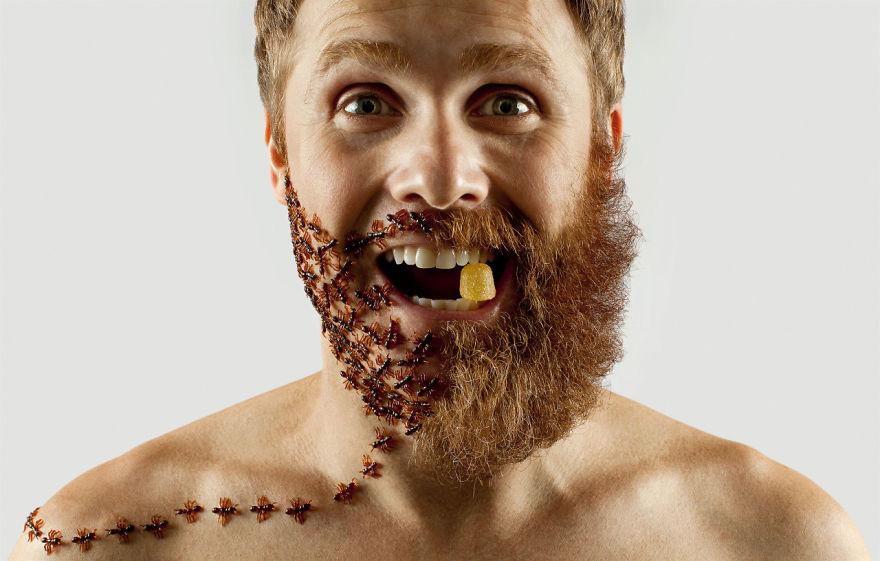 Груминг стрижка бороды креатив__005