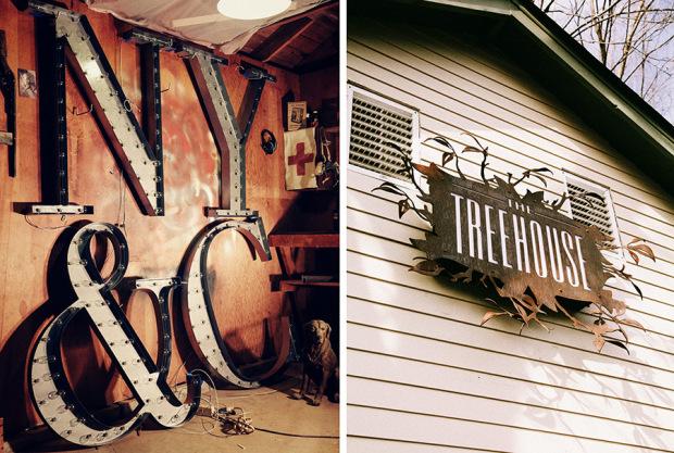 Как создают неоновые вывески в гараже. Фото № 7