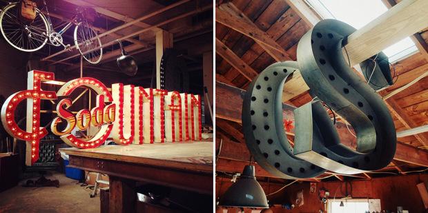 Как создают неоновые вывески в гараже. Фото № 9