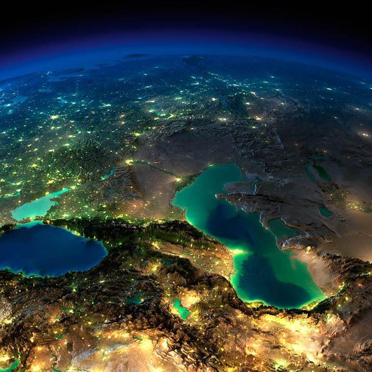 Как выглядит Земля ночью из космоса. НАСА. Фото № 11