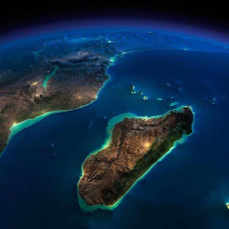 Как выглядит Земля ночью из космоса. НАСА. Фото № 17