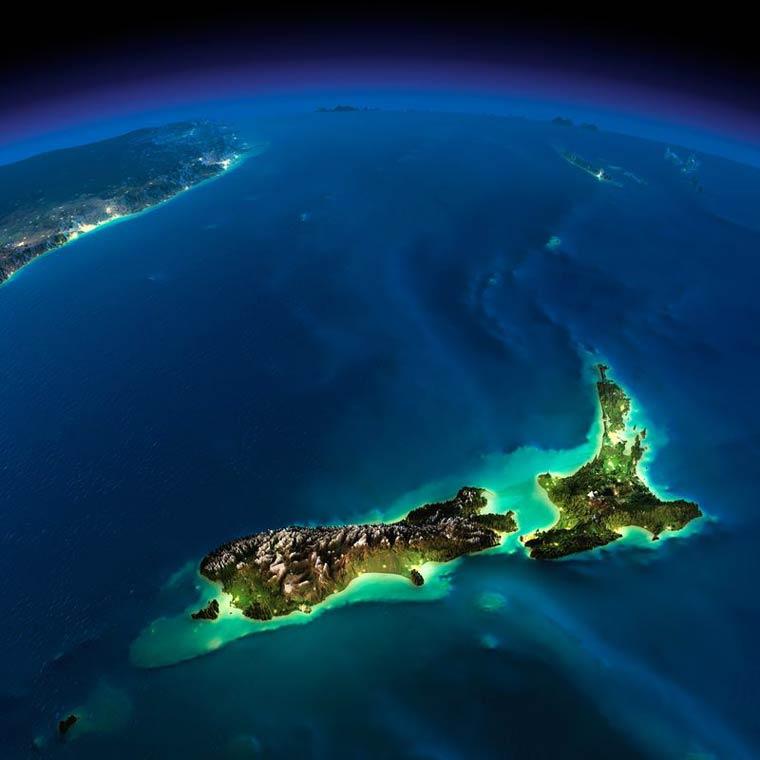 Как выглядит Земля ночью из космоса. НАСА. Фото № 18