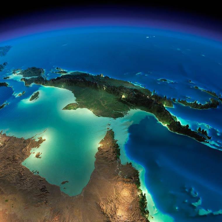 Как выглядит Земля ночью из космоса. НАСА. Фото № 23