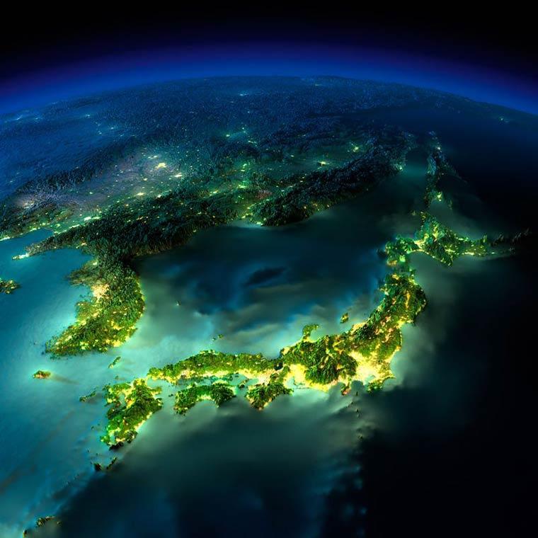 Как выглядит Земля ночью из космоса. НАСА. Фото № 3