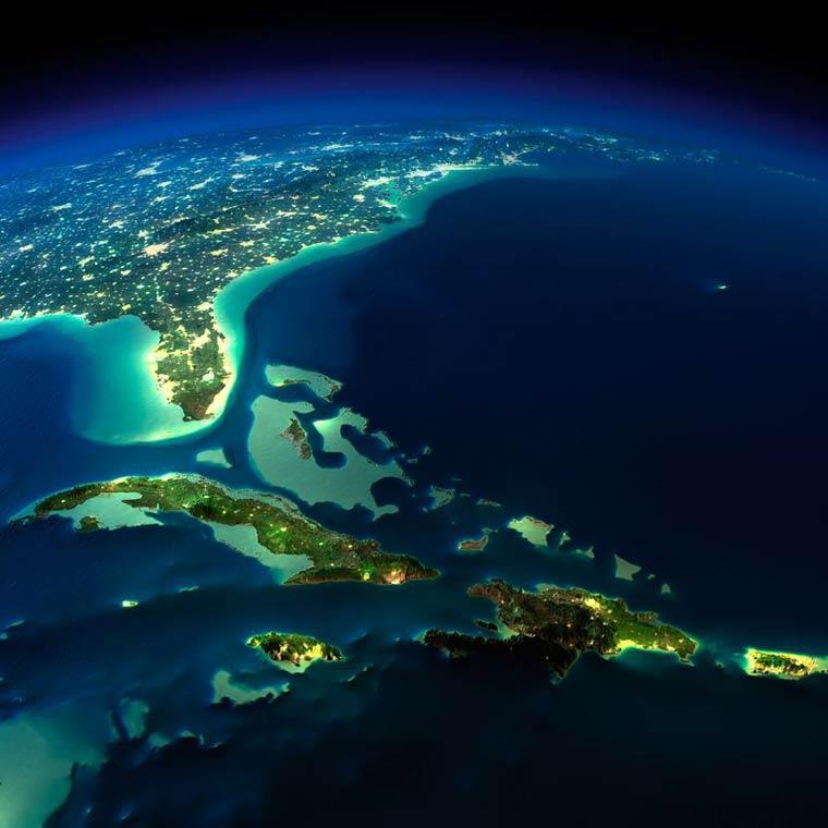 Как выглядит Земля ночью из космоса. НАСА. Фото № 9