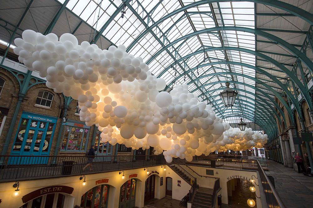 Облако из шаров. Фото № 2
