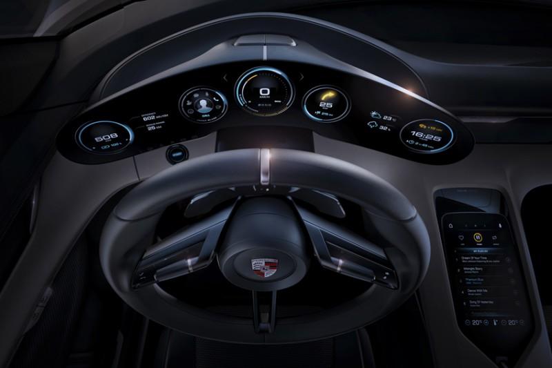 Porsche Mission E Concept фото-1