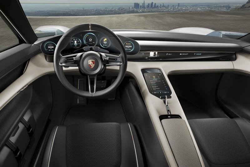 Porsche Mission E Concept фото-3