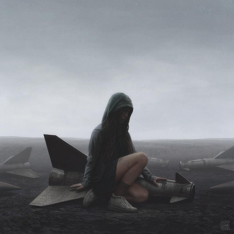 апокалиптика, постапокалиптические пейзажи будущего, компьютерная графика_12