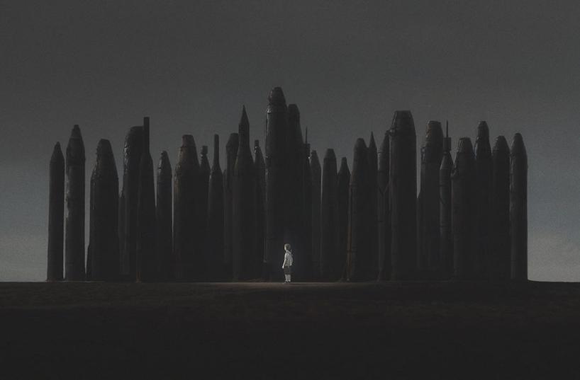 апокалиптика, постапокалиптические пейзажи будущего, компьютерная графика_14