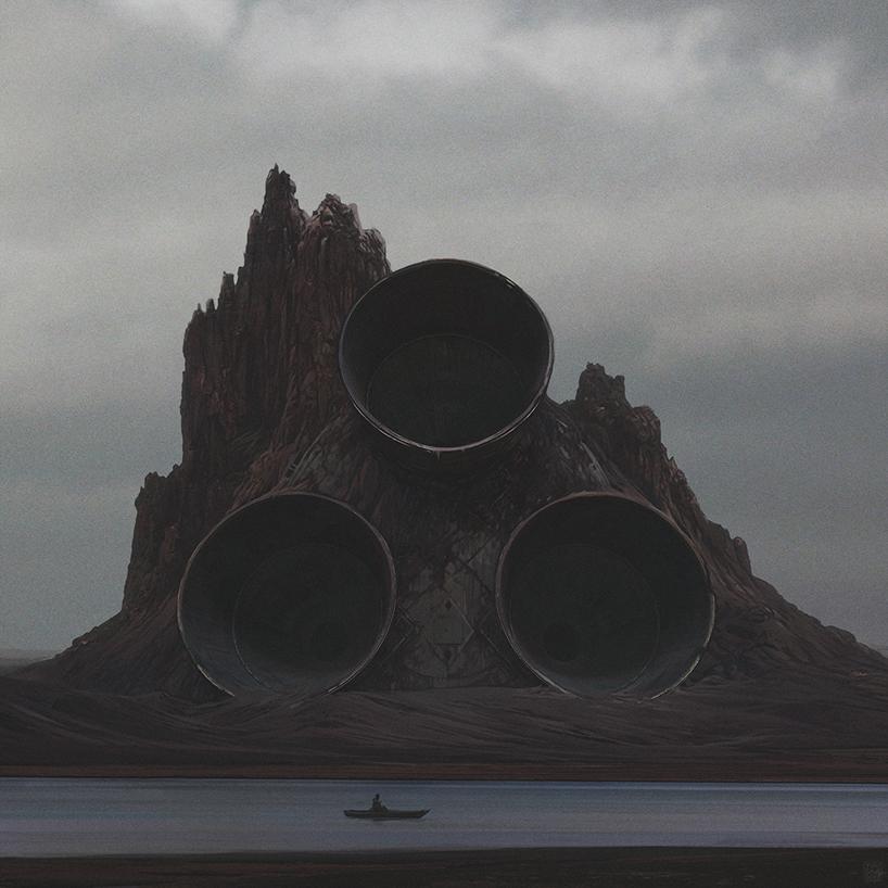 апокалиптика, постапокалиптические пейзажи будущего, компьютерная графика_2