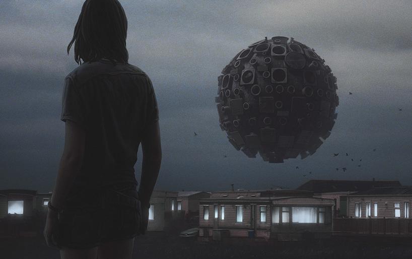 апокалиптика, постапокалиптические пейзажи будущего, компьютерная графика_6